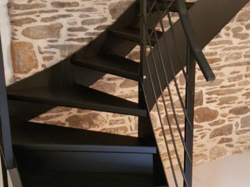 Escalier métallique intérieur Le Conquet (2)
