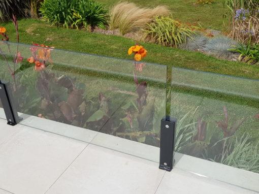 Garde-corps verre métal Dirinon